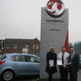 Motability award for Bellinger Abingdon